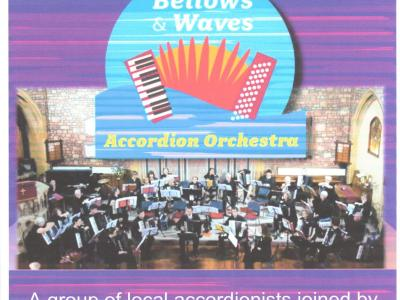 bellows and waves poster