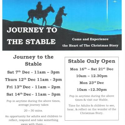 Journey to the stable 2019