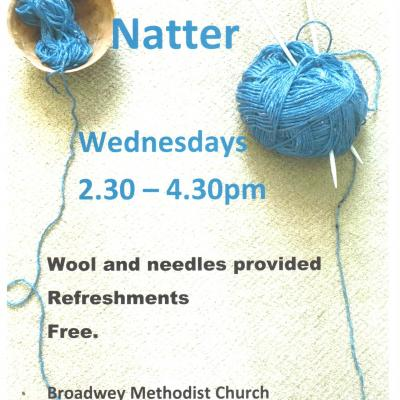 Knit and Natter Broadwey