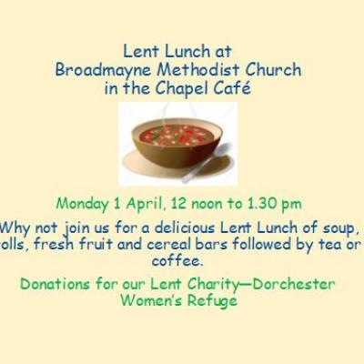 Lent Lunch 2019